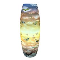 Đèn sứ thấu quang - mộng hồ điệp - cao 62cm