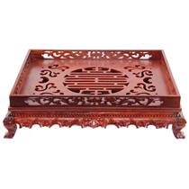Khay đựng ấm chén gỗ hương cao cấp 3 - 45cmx35cm